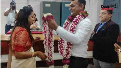 Photo of लोगों को यह सलाह देने वाली सिटी मजिस्ट्रेट ने खुद सादगी से शादी कर मिसाल पेश की